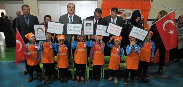 Mehmet Hançerli kan bağışı kampanyasına destek verdi