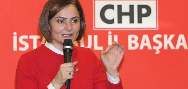 CHP İstanbul İl Başkanı Kaftancıoğlu istifasını geri çekti