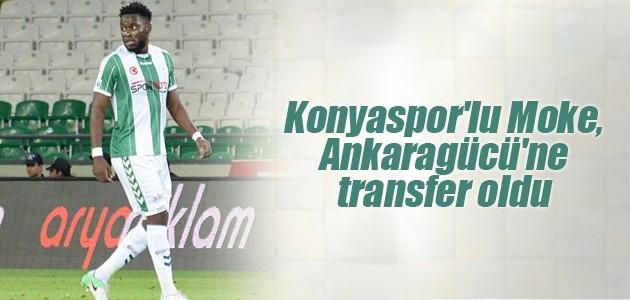 Konyaspor'lu Wilfred Moke, Ankaragücü'ne transfer oldu
