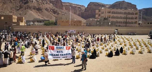 Konya'dan Yemen'e insani yardım
