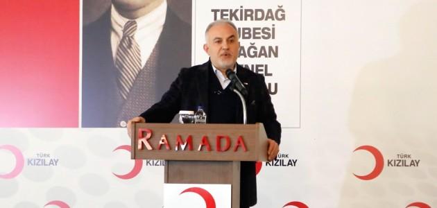 Türk Kızılay Başkanı Kınık: 147 ülkede insani yardım faaliyeti gösterdik