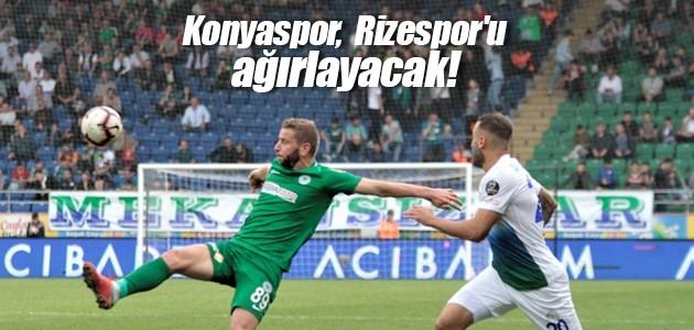 Konyaspor, Rizespor'u ağırlayacak!