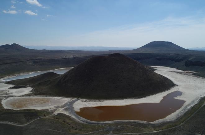 8 bin yıllık doğal güzellik: Meke Gölü