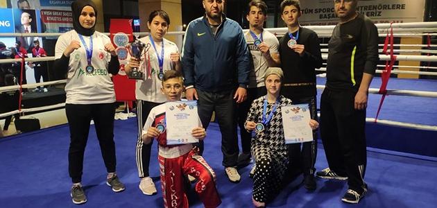 Meram Belediyesporlu kıck boksçulardan bir büyük başarı daha