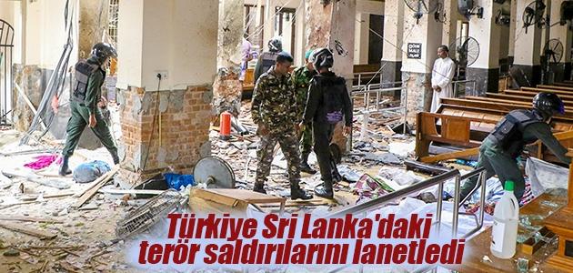 Türkiye Sri Lanka'daki terör saldırılarını lanetledi