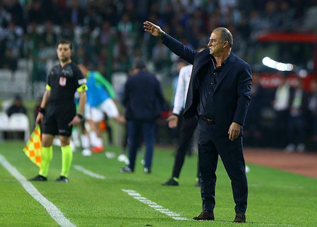 Konyaspor - Galatasaray maçından kareler