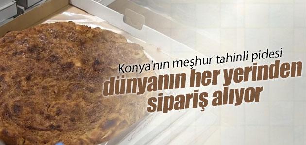 Konya'nın meşhur tahinli pidesi dünyanın her yerinden sipariş alıyor