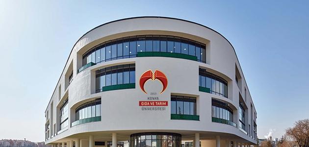 Konya Gıda ve Tarım Üniversitesi, bilimsel çalışmalarıyla da öne geçti