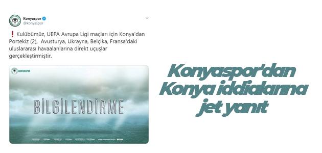 Konyaspor'dan Konya iddialarına jet yanıt