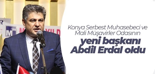Konya Serbest Muhasebeci ve Mali Müşavirler Odasının yeni başkanı Abdil Erdal oldu