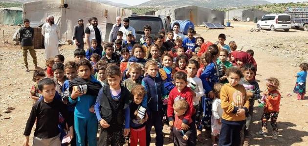 Şebabul Hüda Derneği'nden Afrin'e yardım eli