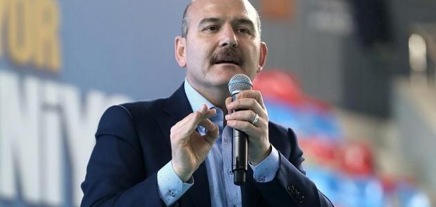 Soylu: Türkiye'yi diktatörlükle suçlayanlar, dün akşam sevinç çığlıkları atıyordu