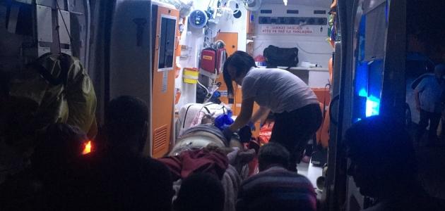 Konya'da cinnet getiren kişi karısını çocuklarının gözü önünde öldürdü