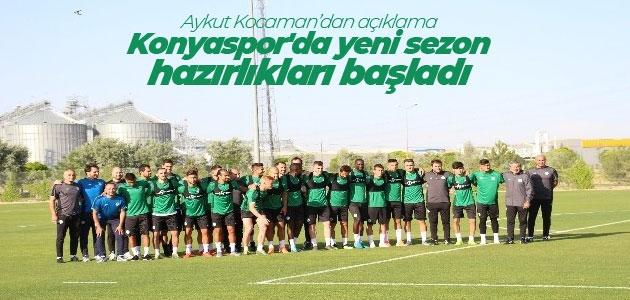 Aykut Kocaman'dan transfer açıklaması: 3-4 oyuncuyla temaslar sürüyor