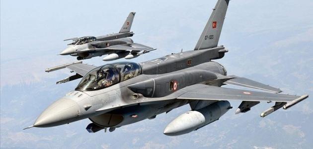 Irak'ın kuzeyine düzenlenen hava harekatlarında 5 terörist etkisiz hale getirildi