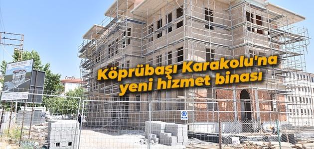 Karatay Belediyesi'nden Köprübaşı Karakolu'na yeni hizmet binası