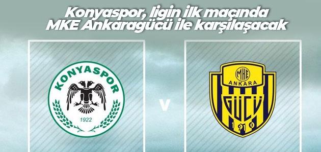 Konyaspor, ligin ilk maçında MKE Ankaragücü ile karşılaşacak