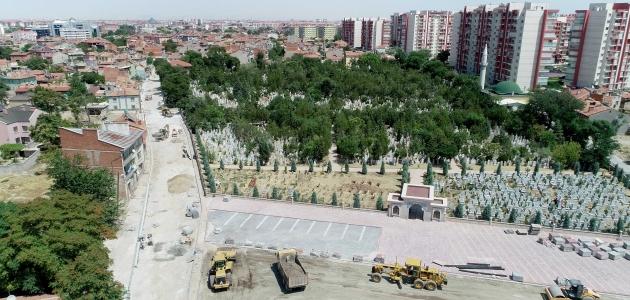 Meram Belediyesi asfalt sorunun çözmek için dört bir koldan çalışıyor