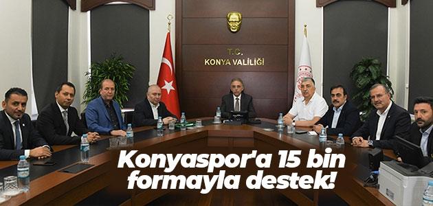 Konyaspor'a 15 bin formayla destek!