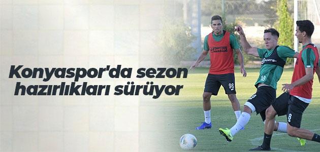 Konyaspor'da sezon hazırlıkları sürüyor