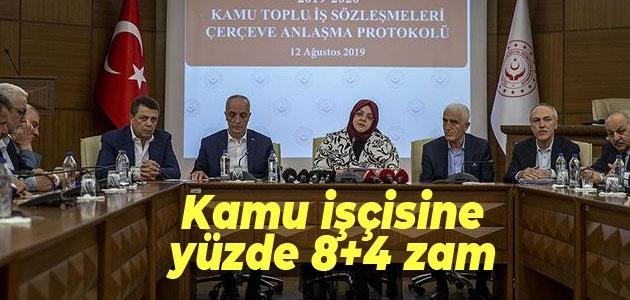 Hükümet ile Türk-İş zamda anlaştı