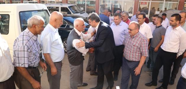 AK Parti Hadim'de bayramlaşma