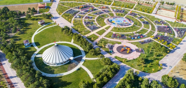 Konya'nın gözdesi Dutlu Millet Bahçesi