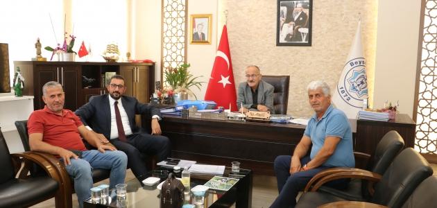 Mustafa Akış'tan Adil Bayındır'a ziyaret