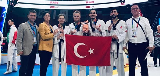 Tekvando Milli Takımı'ndan bronz madalya