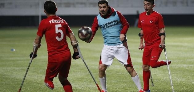 Ampute Futbol Milli Takımı, Düzce'de kampa girecek