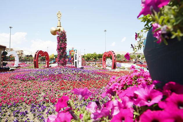 Selçuklu Çiçek Bahçesi şehrin cazibe merkezi oldu