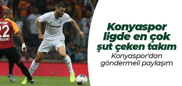 Konyaspor ligde en çok şut çeken takım!