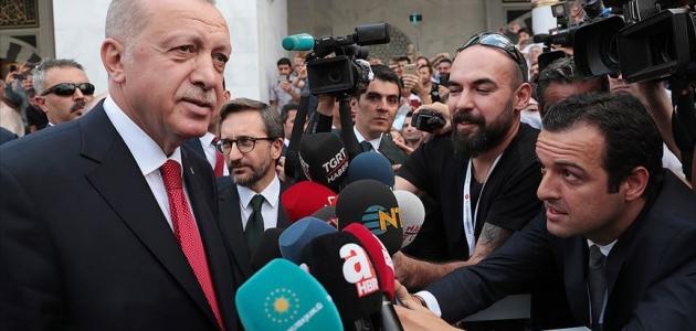 Cumhurbaşkanı Erdoğan: İdlib'le ilgili gelişmeler istediğimiz noktada değil