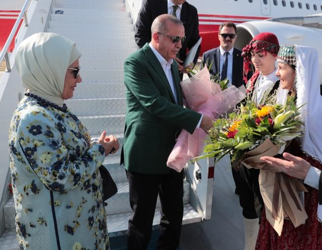 Cumhurbaşkanı Erdoğan Konya\'da