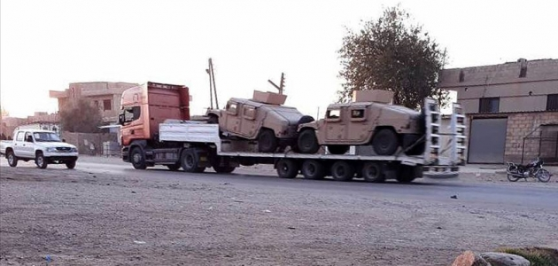 ABD YPG/PKK işgalindeki bölgeye sevkiyatlarını sürdürüyor