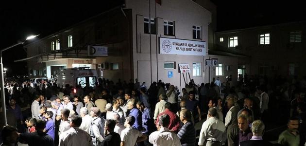 Diyarbakır'daki sivillere yönelik terör saldırısı: 7 şehit