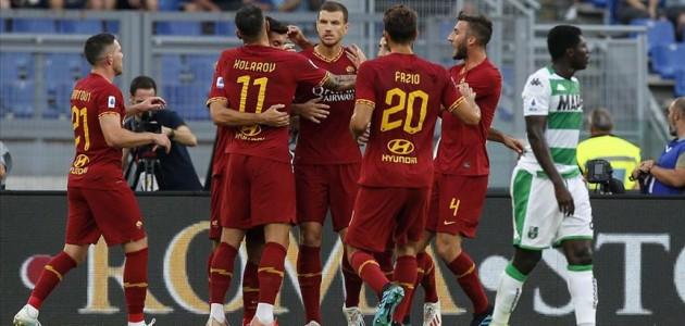Roma ligde 4 golle kazandı