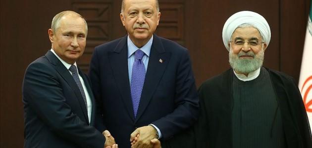 Türkiye-Rusya-İran Üçlü Liderler Zirvesi Rus basınında