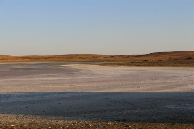 Düden Gölü'nde kuraklık yüzünden kuşların yaşam alanı daraldı