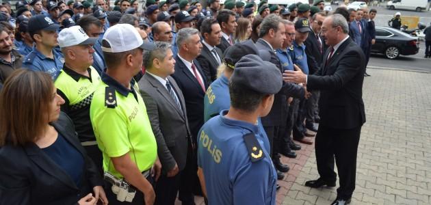 Konya'ya atanan Emniyet Müdürü için uğurlama töreni düzenlendi