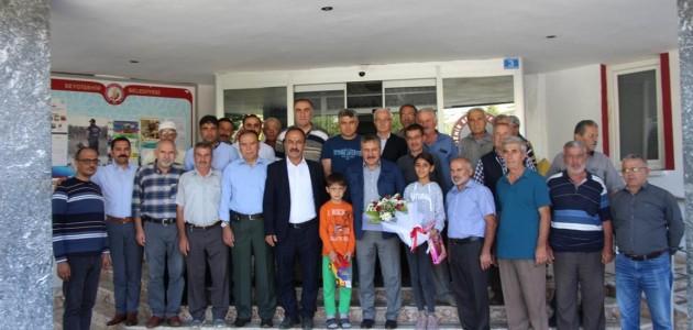 Mahalle sakinlerinden Başkan Tutal'a teşekkür