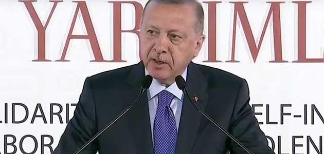 Cumhurbaşkanı Erdoğan: Geçmişlerinde ya katliam ya işgal ya da sömürgecilik lekesi var