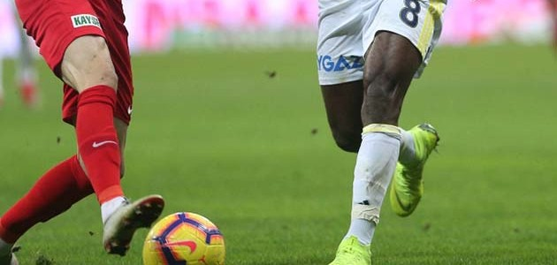Fenerbahçe ile Kayserispor 47. maça çıkıyor