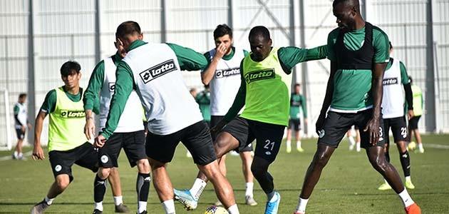 Konyaspor, Sivasspor maçının hazırlıklarını sürdürdü