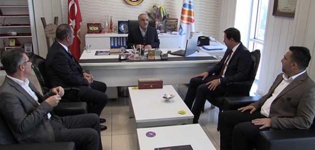 AK Parti Karatay ilçe teşkilatı KONTV'yi ziyaret etti
