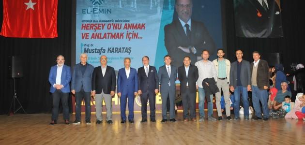 Akşehir'de Prof. Dr. Mustafa Karataş'a yoğun ilgi