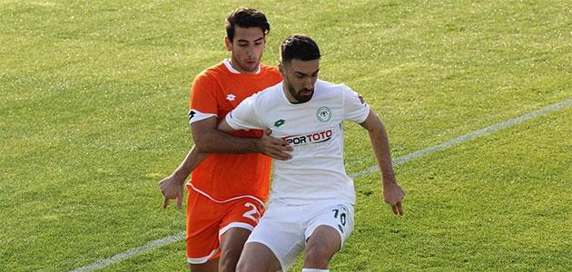 Konyaspor, Adanaspor ile 1-1 berabere kaldı