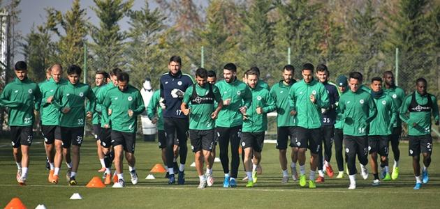 Konyaspor, Beşiktaş maçı hazırlıklarını sürdürdü