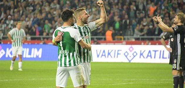 Konyaspor ile Beşiktaş 37. maça çıkıyor
