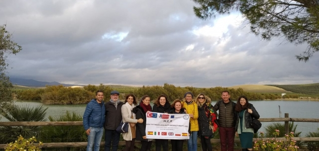 Beyşehir'de görev yapan öğretmenler İspanya'dan döndü